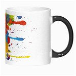 Crazy Multicolored Double Running Splashes Morph Mugs Right