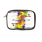 Crazy Multicolored Double Running Splashes Coin Purse Front