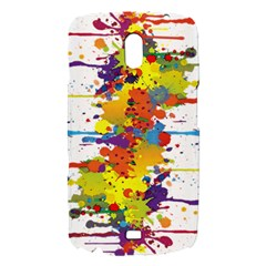 Crazy Multicolored Double Running Splashes Samsung Galaxy Nexus i9250 Hardshell Case