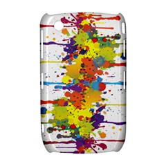 Crazy Multicolored Double Running Splashes Curve 8520 9300