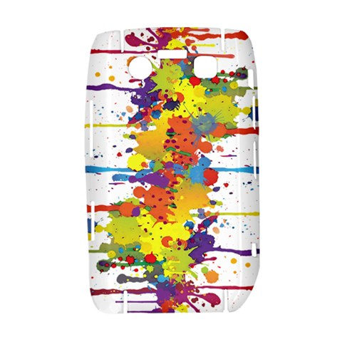 Crazy Multicolored Double Running Splashes Bold 9700