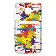 Crazy Multicolored Double Running Splashes HTC Evo 4G LTE Hardshell Case