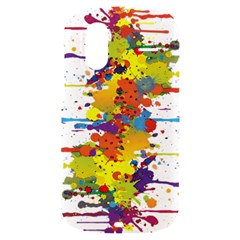 Crazy Multicolored Double Running Splashes HTC Amaze 4G Hardshell Case
