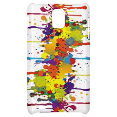 Crazy Multicolored Double Running Splashes Samsung Infuse 4G Hardshell Case