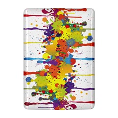 Crazy Multicolored Double Running Splashes Kindle 4