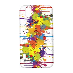 Crazy Multicolored Double Running Splashes LG Optimus P970