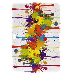 Crazy Multicolored Double Running Splashes Samsung Galaxy Tab 8.9  P7300 Hardshell Case