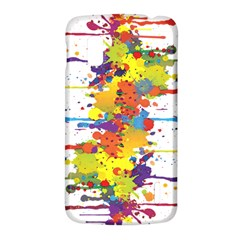Crazy Multicolored Double Running Splashes LG Nexus 4
