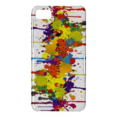 Crazy Multicolored Double Running Splashes BlackBerry Z10