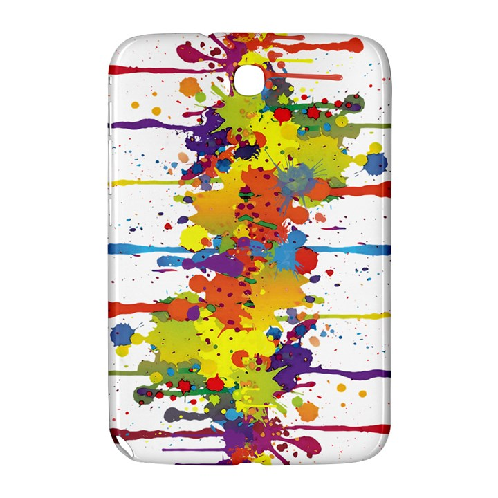 Crazy Multicolored Double Running Splashes Samsung Galaxy Note 8.0 N5100 Hardshell Case