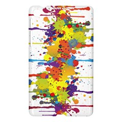 Crazy Multicolored Double Running Splashes Nexus 7 (2013)