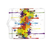 Crazy Multicolored Double Running Splashes Kindle Fire HDX 8.9  Flip 360 Case Front