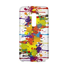 Crazy Multicolored Double Running Splashes LG G Flex
