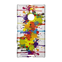 Crazy Multicolored Double Running Splashes Nokia Lumia 1520