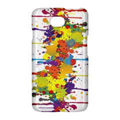 Crazy Multicolored Double Running Splashes LG Optimus L70