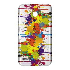 Crazy Multicolored Double Running Splashes Nokia Lumia 630