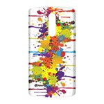 Crazy Multicolored Double Running Splashes LG G3 Back Case Front
