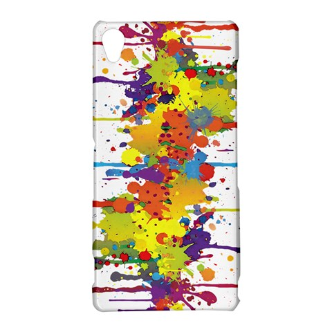 Crazy Multicolored Double Running Splashes Sony Xperia Z3