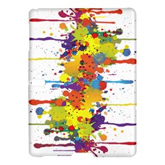 Crazy Multicolored Double Running Splashes Samsung Galaxy Tab S (10 5 ) Hardshell Case