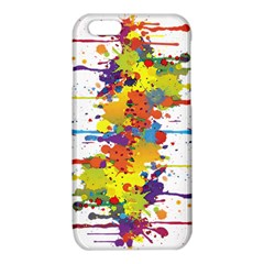 Crazy Multicolored Double Running Splashes iPhone 6/6S TPU Case