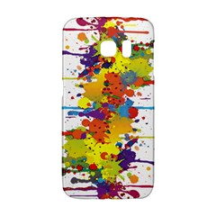 Crazy Multicolored Double Running Splashes Galaxy S6 Edge