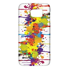 Crazy Multicolored Double Running Splashes Galaxy S6