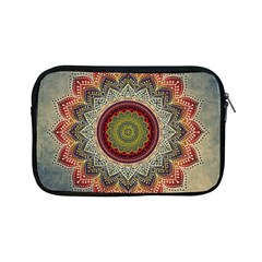 Folk Art Lotus Mandala Dirty Blue Red Apple iPad Mini Zipper Cases