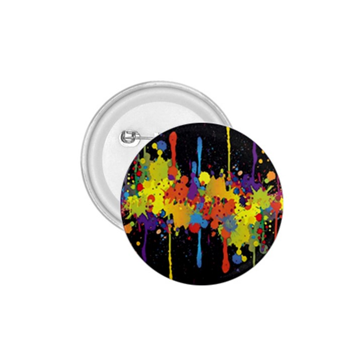 Crazy Multicolored Double Running Splashes Horizon 1.75  Buttons