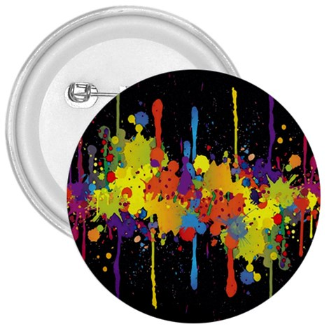 Crazy Multicolored Double Running Splashes Horizon 3  Buttons
