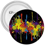 Crazy Multicolored Double Running Splashes Horizon 3  Buttons Front