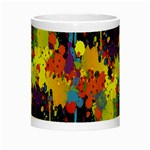 Crazy Multicolored Double Running Splashes Horizon Night Luminous Mugs Center