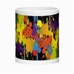 Crazy Multicolored Double Running Splashes Horizon Morph Mugs Center