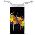 Crazy Multicolored Double Running Splashes Horizon Jewelry Bags Front