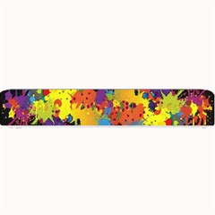Crazy Multicolored Double Running Splashes Horizon Small Bar Mats