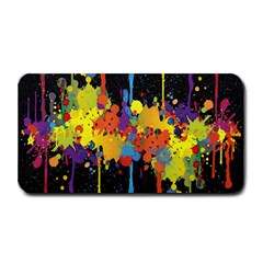 Crazy Multicolored Double Running Splashes Horizon Medium Bar Mats