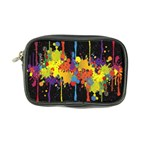Crazy Multicolored Double Running Splashes Horizon Coin Purse Front