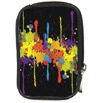 Crazy Multicolored Double Running Splashes Horizon Compact Camera Cases Front
