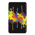 Crazy Multicolored Double Running Splashes Horizon Memory Card Reader Front