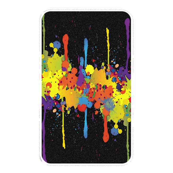 Crazy Multicolored Double Running Splashes Horizon Memory Card Reader