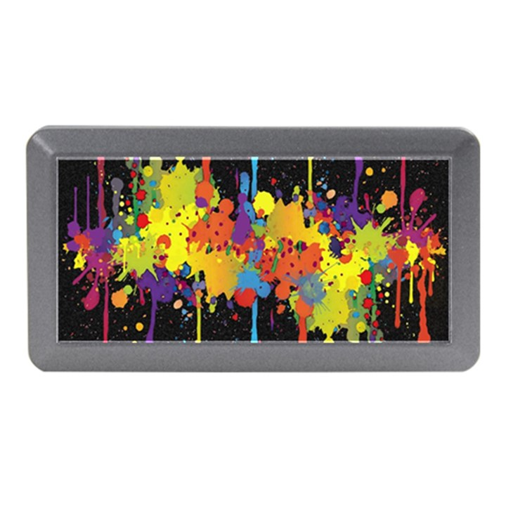 Crazy Multicolored Double Running Splashes Horizon Memory Card Reader (Mini)