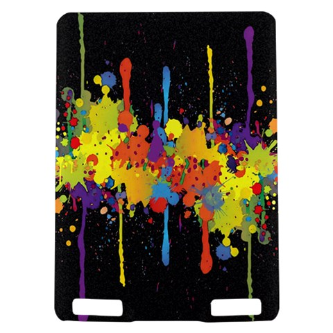 Crazy Multicolored Double Running Splashes Horizon Kindle Touch 3G