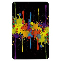 Crazy Multicolored Double Running Splashes Horizon Kindle Fire (1st Gen) Hardshell Case
