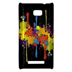 Crazy Multicolored Double Running Splashes Horizon HTC 8X