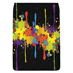 Crazy Multicolored Double Running Splashes Horizon Flap Covers (s)