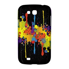 Crazy Multicolored Double Running Splashes Horizon Samsung Galaxy Grand GT-I9128 Hardshell Case