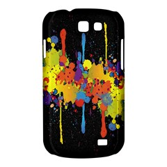 Crazy Multicolored Double Running Splashes Horizon Samsung Galaxy Express I8730 Hardshell Case