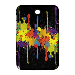 Crazy Multicolored Double Running Splashes Horizon Samsung Galaxy Note 8 0 N5100 Hardshell Case