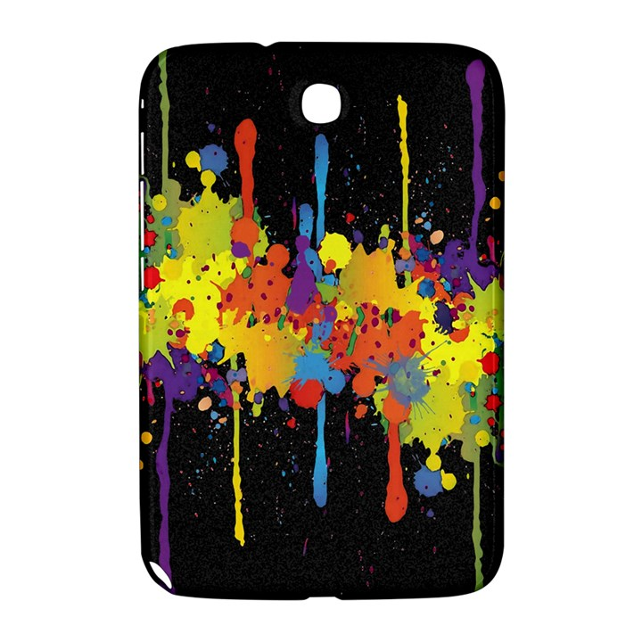 Crazy Multicolored Double Running Splashes Horizon Samsung Galaxy Note 8.0 N5100 Hardshell Case