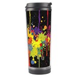 Crazy Multicolored Double Running Splashes Horizon Travel Tumbler Right