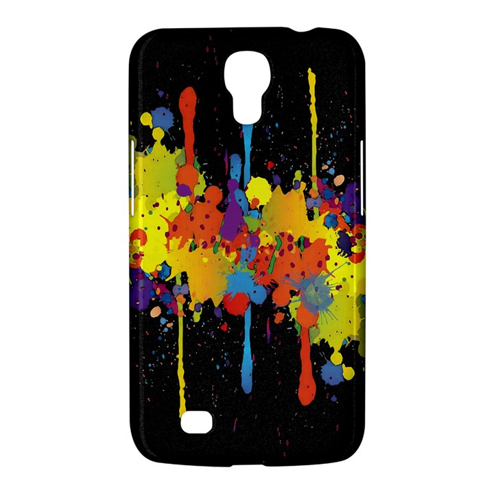 Crazy Multicolored Double Running Splashes Horizon Samsung Galaxy Mega 6.3  I9200 Hardshell Case